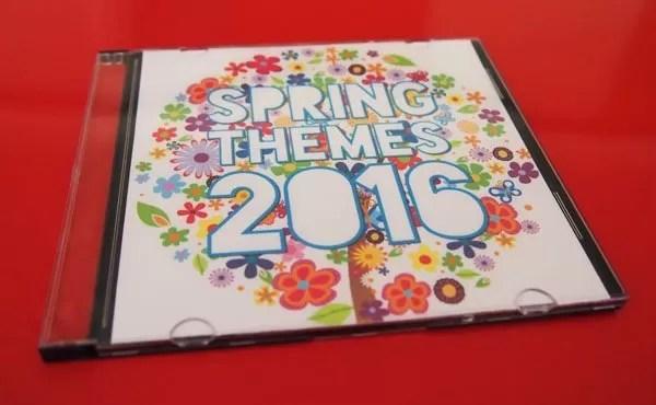 Spring Themes CD