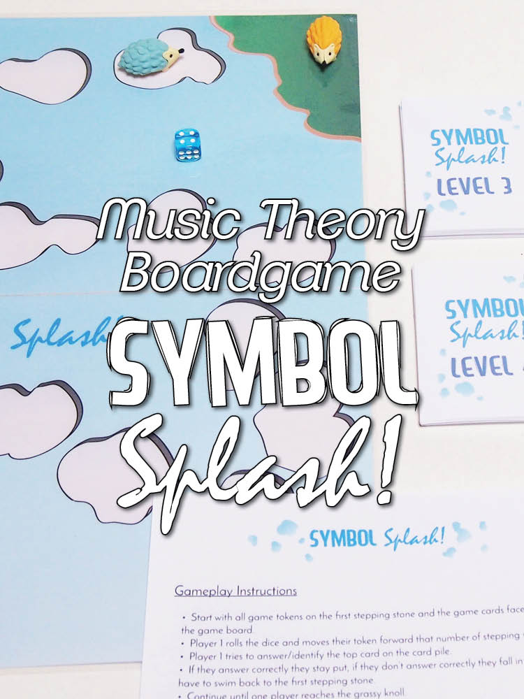 Symbol Splash Music Theory Boardgame