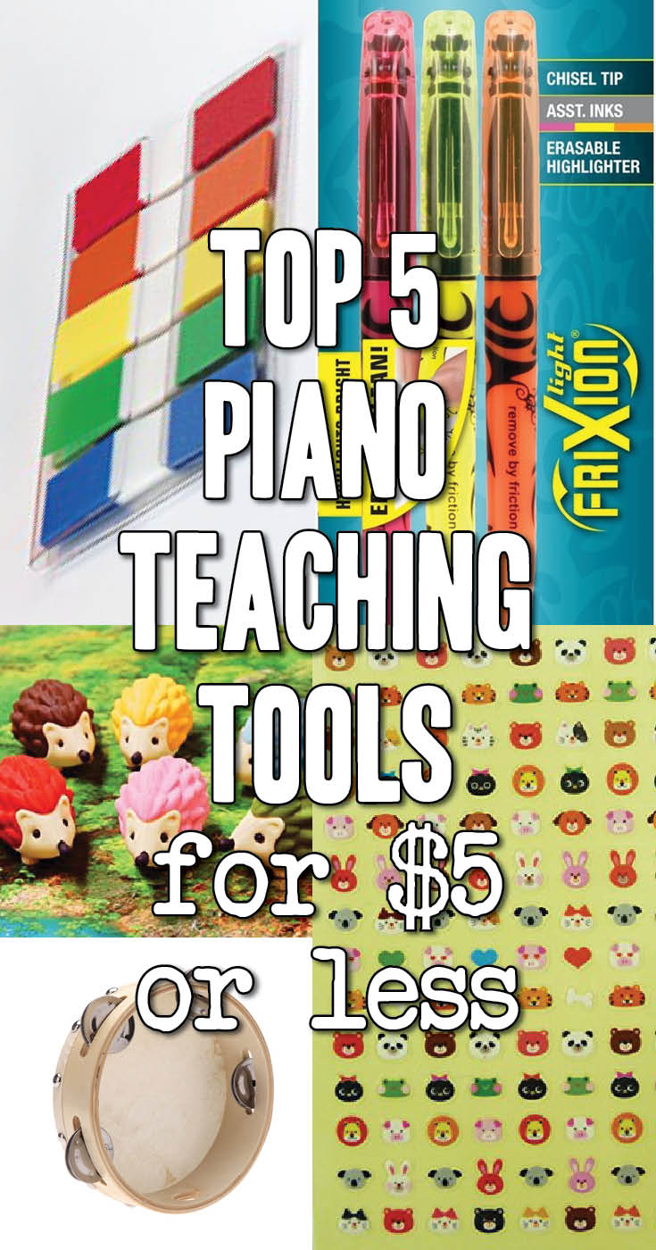 Cheap and cheerful tools for piano teachers