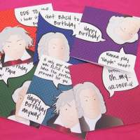 Great composers birthday cards