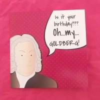 Pink Haydn Birthday Cards