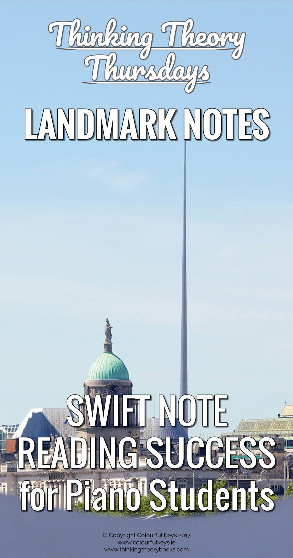 Landmark notes are the surest way to successful note reading