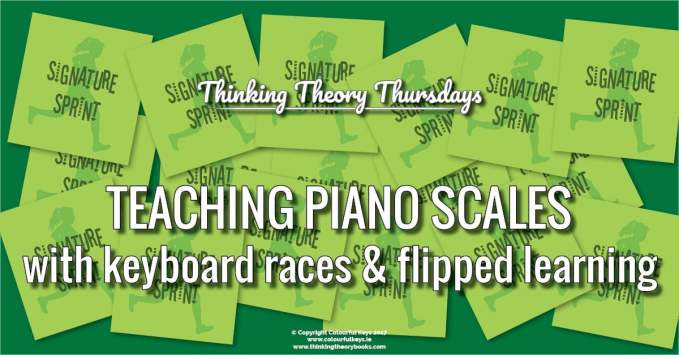 How to Introduce Piano Scales and Scale Notation