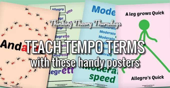 Tricks to Teach Tempo Terms to Piano Students