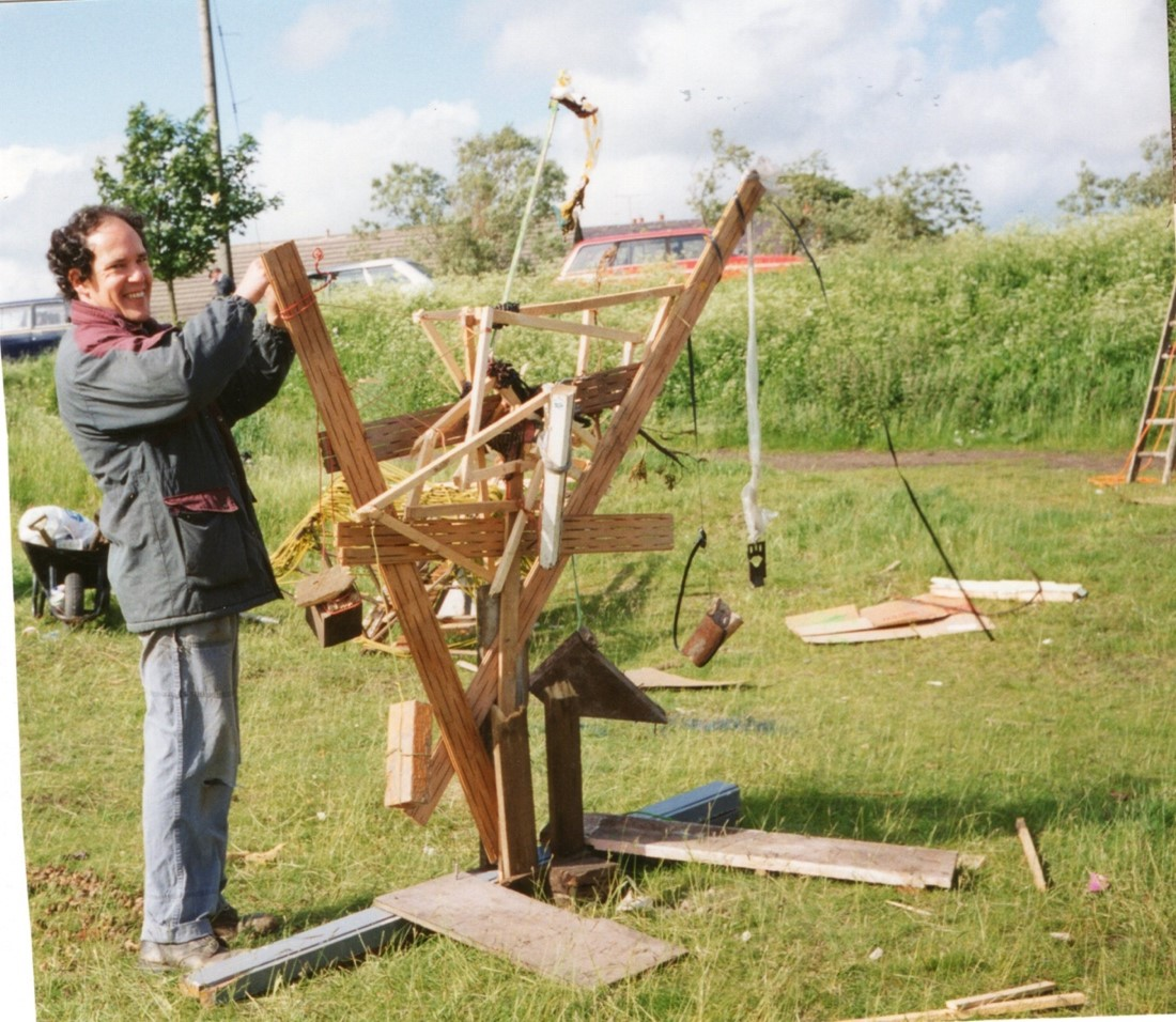 SCULPTURE DAY, JERRY – 1993, TINDALE