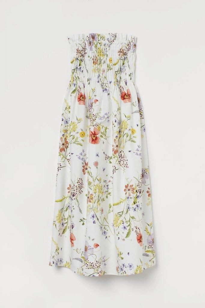 Spring dresses in poplin and from the HM wildflower collection