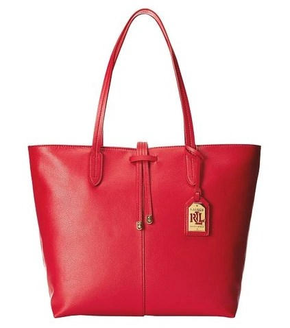 Ralph Lauren Crawley Unlined Tote