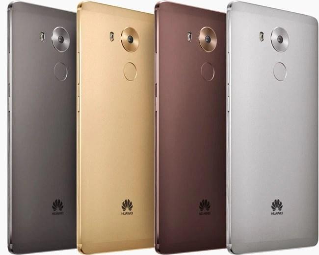 Huawei Mate 8 Colours