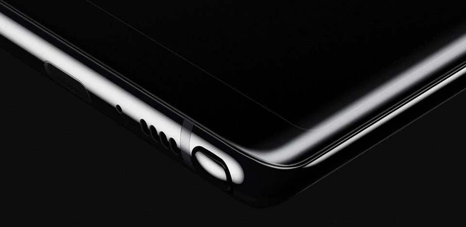 Note8 Bezel-less Curved Display