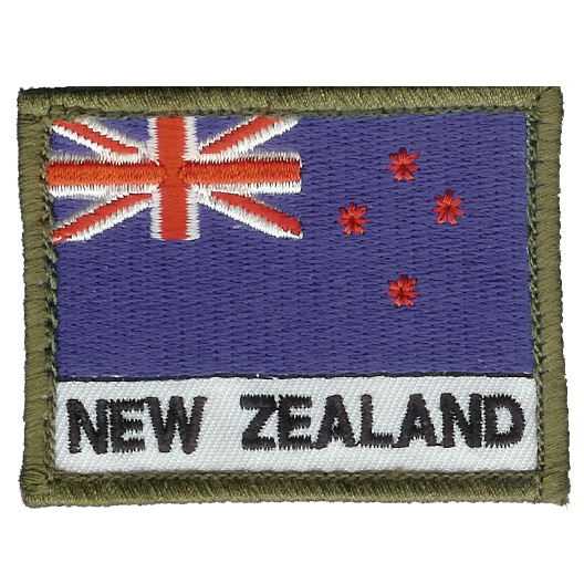 New Zealand Flag Patch