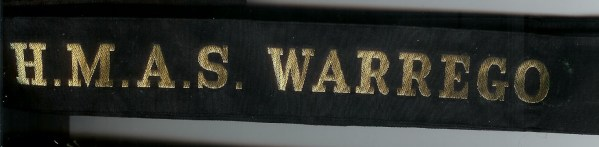 HMAS WARREGO' - RAN Tally Band