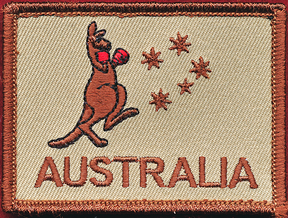 AUSTRALIA patch - Boxing Roo (#2)