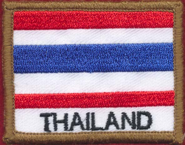Thailand Patch - Polyester