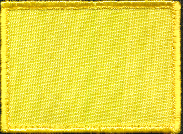 Course Colour Patch - ARES GS Officer (Yellow)