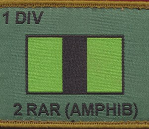 2 Royal Australian Regiment (Amphibious) Patch