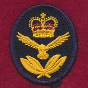 RAAF Garrsion Cap Patch (Officers)