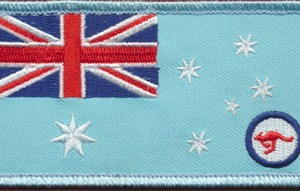 Australian National Flag - RAAF Ensign (Flight Suit)