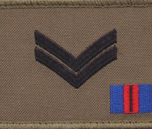 CORPORAL (CPL) - TBAS Field Rank Patch (RMC)