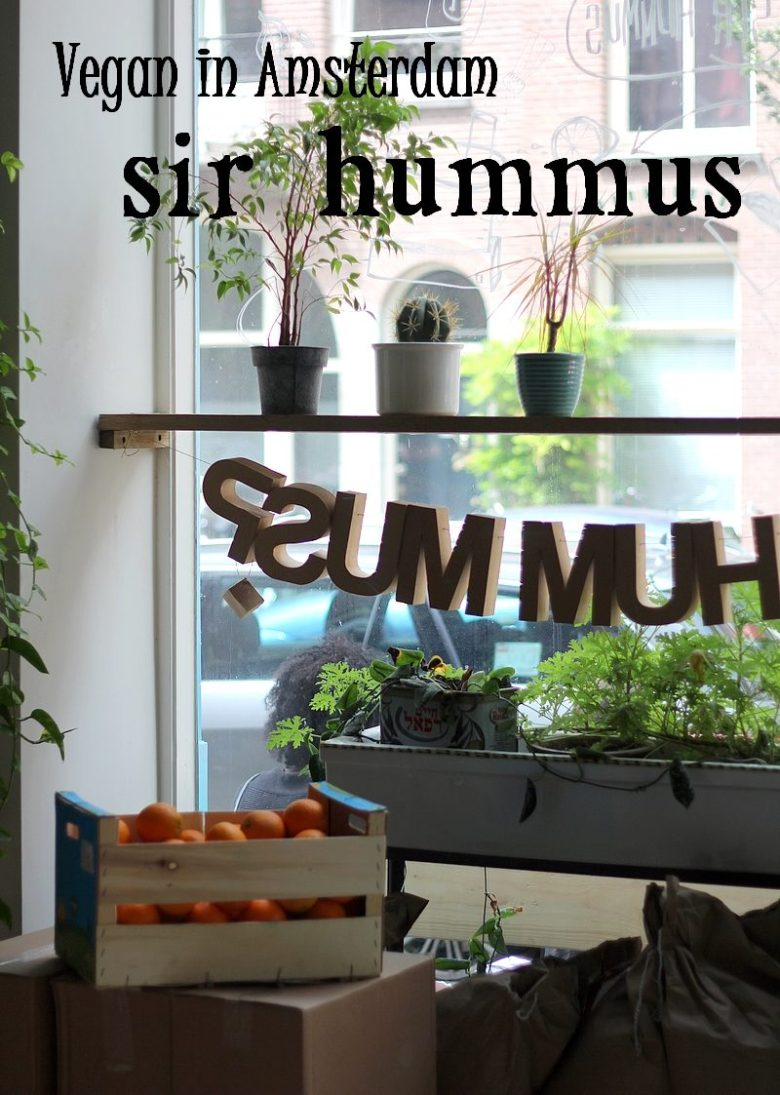 Vegan in Amsterdam hotspot Sir Hummus 14