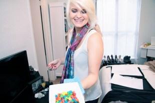 Fashion stylist, Allison Taylor