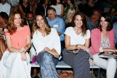 Front row Desfile Escorpion