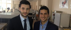 Mustafa Dugral and Enes Samed Em