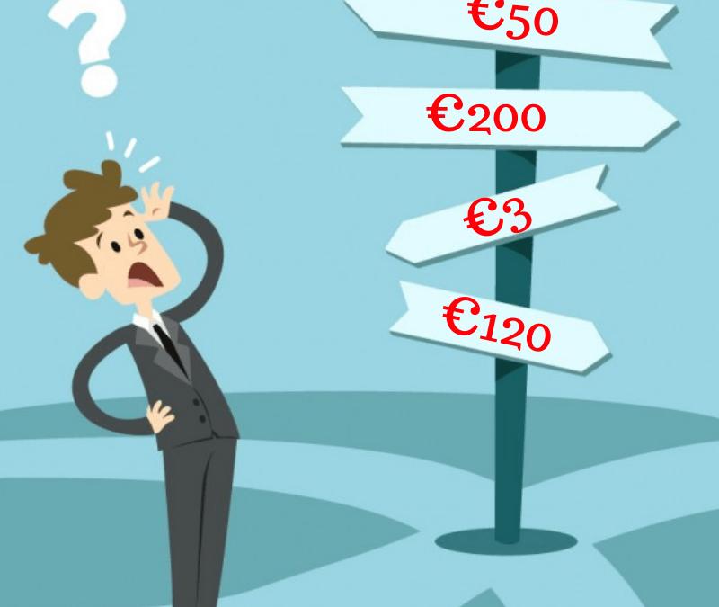 Tariffario da Copywriter: quanto farti pagare