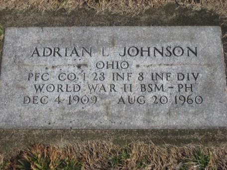 Johnson Adrian WW2 East ave