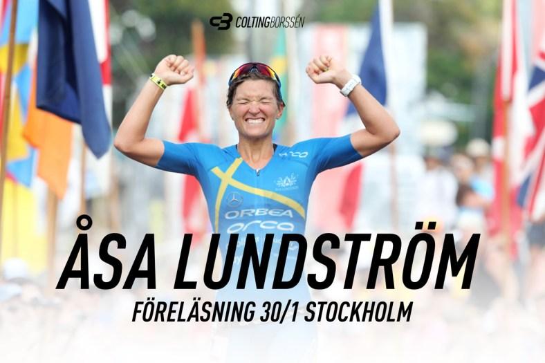Åsa Lundström föreläser i Stockholm