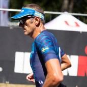 Johan under Ironman 70.3 Jönköping 2018