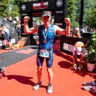 Supermotionären Peter Fällén satte nytt personligt rekord och fixade Ironman 70.3 Jönköping!