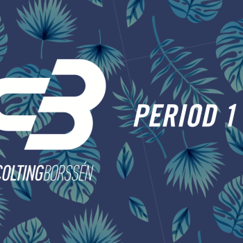 Colting Borssén Coaching Period 1