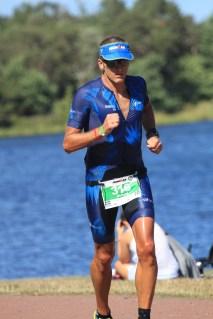 Fin löptid på Ironman Kalmar