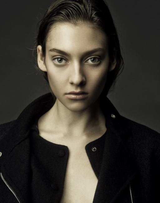 Head and shoulders of model Jaida Bentley. (Courtesy Bryan Whitely)
