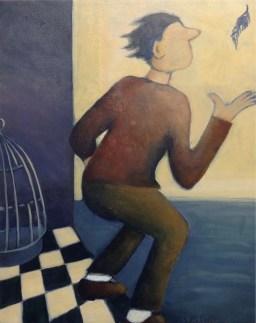 Lori Duckstein | The Door | Acrylic | 16 x 20