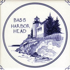 Bass Harbor Lighthouse tile