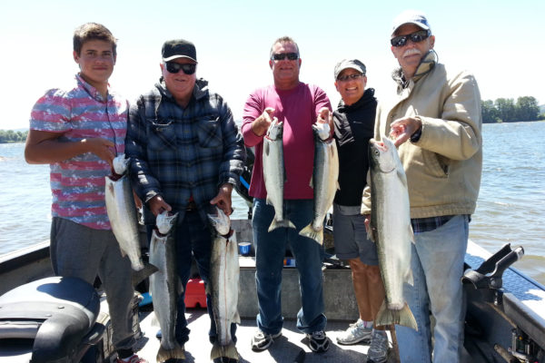 Columbia River fishing for Summer Steelhead