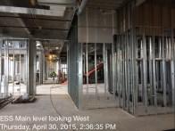 ESS Main Lobby Looking West
