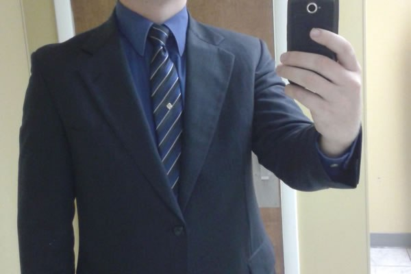 Ryan with new suit