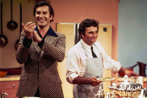 Columbo Double Shock cookery scene