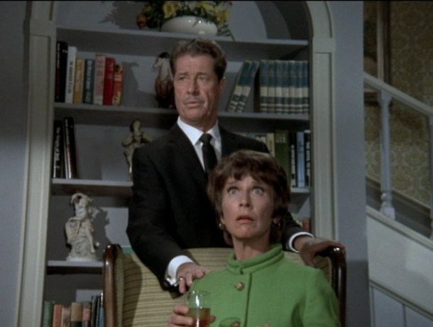 Frank Simpson and Edna