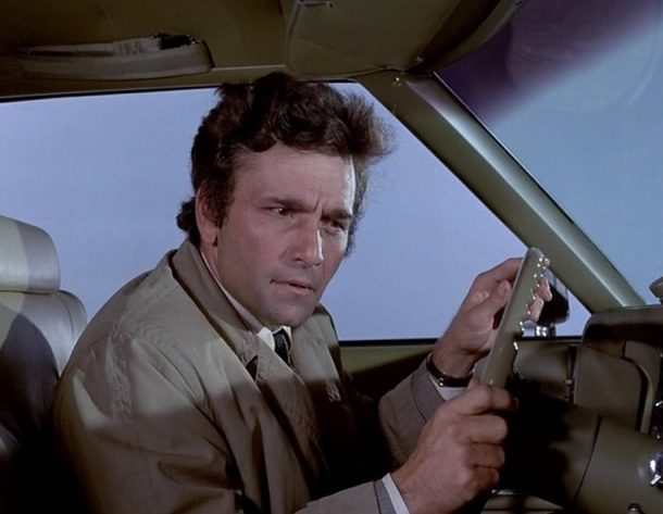 Columbo Blueprint clue