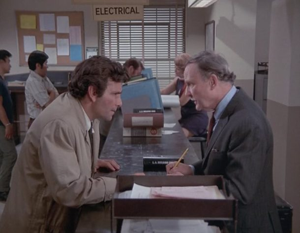 columbo blueprint for murder jobsworth