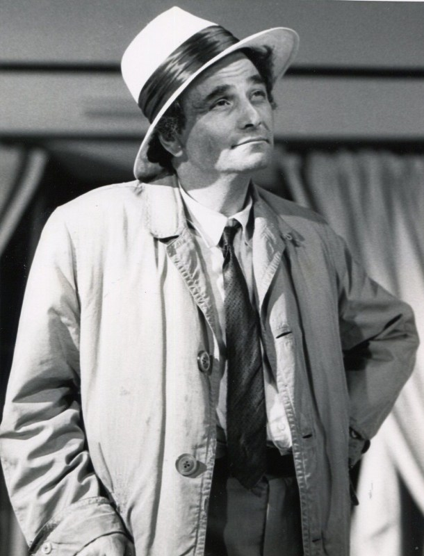 Peter Falk Columbo Fade In to Murder