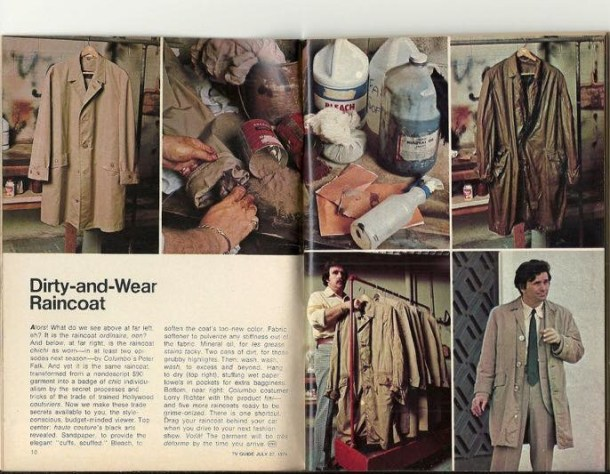 Columbo raincoat article