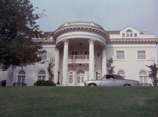 Columbo location Alex Benedict home