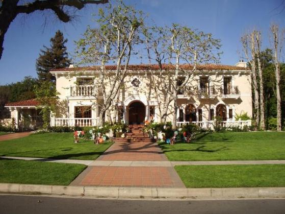 Peter Falk home Beverly Hills