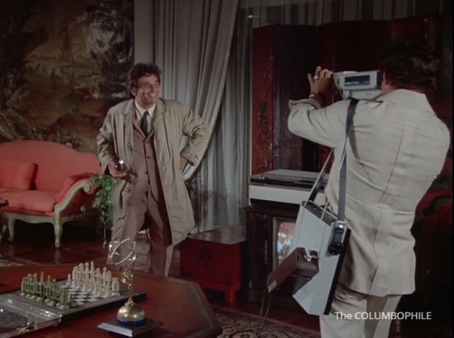 Columbo Fade in to Murder VCR