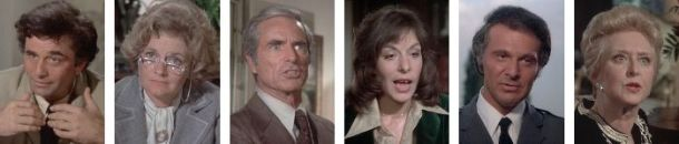Columbo Old Fashioned Murder cast