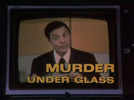 Columbo Murder Under Glass opening titles